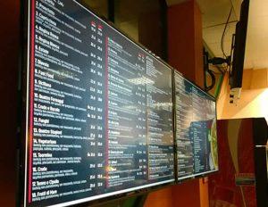 elektroniczne menu